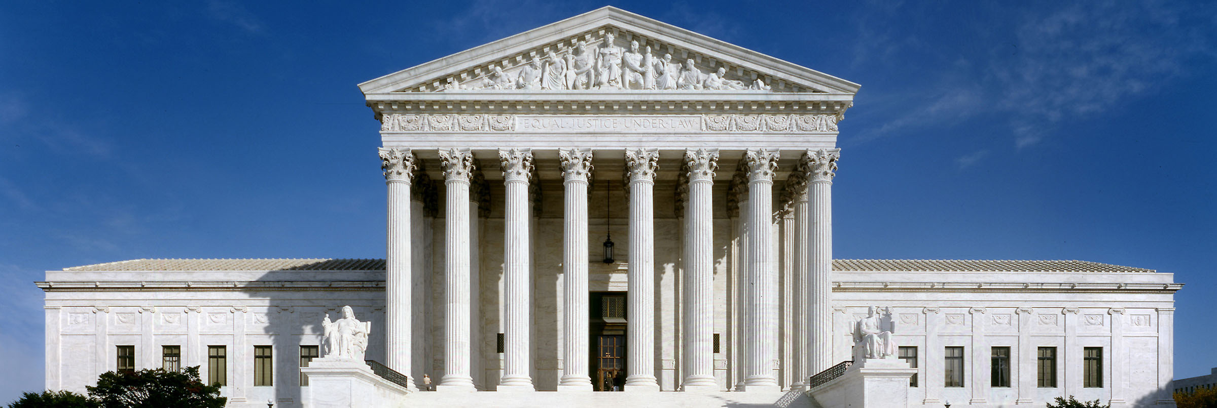 Facade of U.S. Supreme Court and efiling.