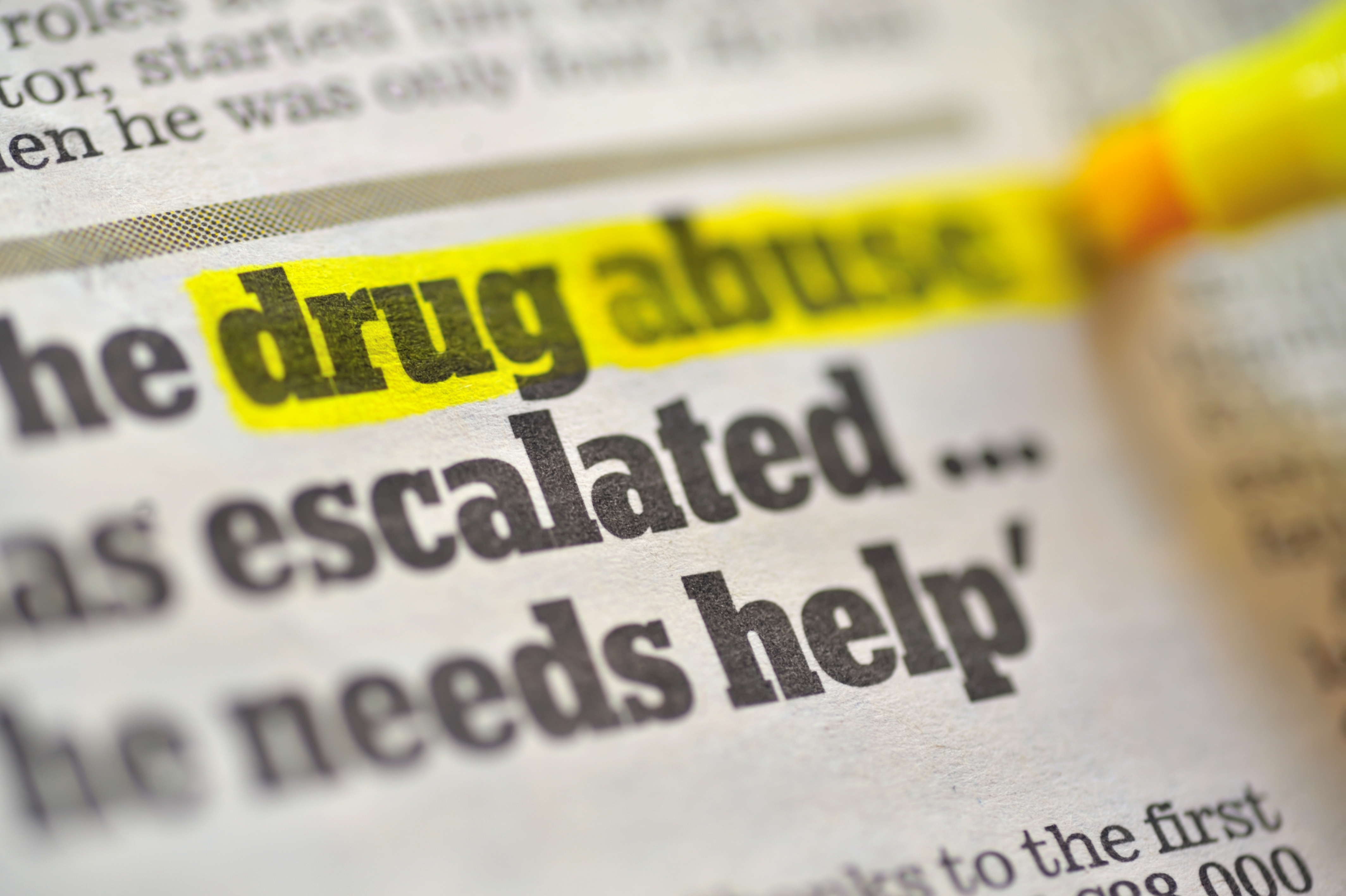 Opioid drugs can be highly addictive.