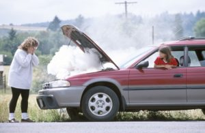 Car engine blow up